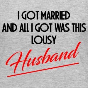 LOUSY HUSBAND Long Sleeve Shirts - Women's Premium Long Sleeve T-Shirt