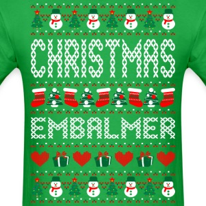 Christmas Embalmer Ugly Christmas Sweater T-Shirts - Men's T-Shirt