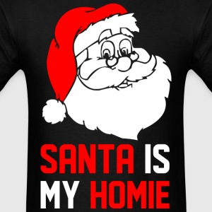 santa_is_my_homie T-Shirts - Men's T-Shirt