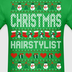 Christmas Hairstylist Ugly Christmas Sweater T-Shirts - Men's T-Shirt