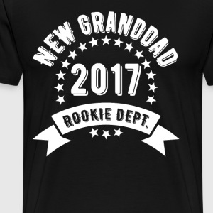 New Granddad 2017 Rokie Dept T-Shirts - Men's Premium T-Shirt
