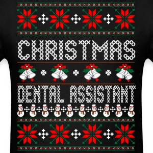 christmas_dental_assistant T-Shirts - Men's T-Shirt