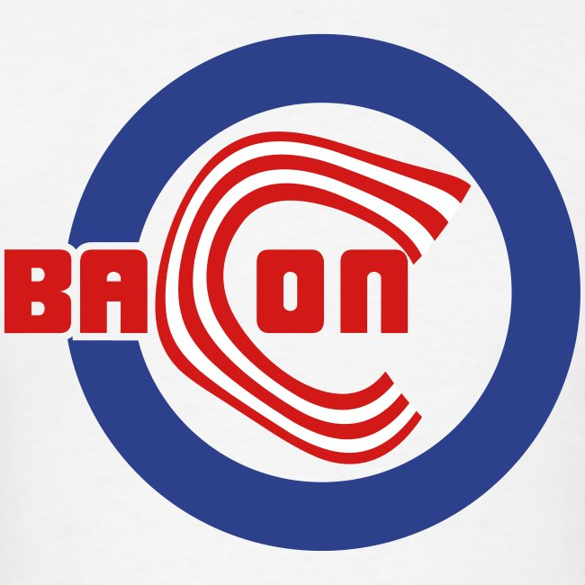 Chicago Bacon Baseball Mens Tee