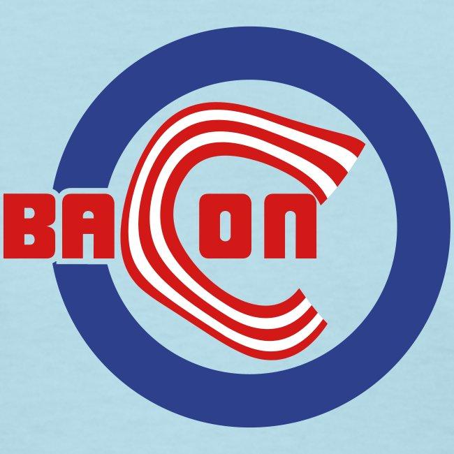 Chicago Bacon Baseball Womens Tee