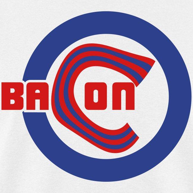 Chicago Bacon Baseball Mens Tee