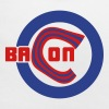 Chicago Bacon Baseball Baby Bib - Baby Bib