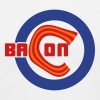 Chicago Bacon Baseball Ladies V-Neck Tee - Women's V-Neck T-Shirt