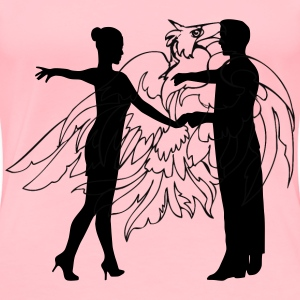 Dancing couple 17 - Women's Premium T-Shirt