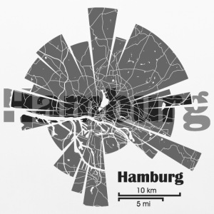 Hamburg Map Other - Pillowcase