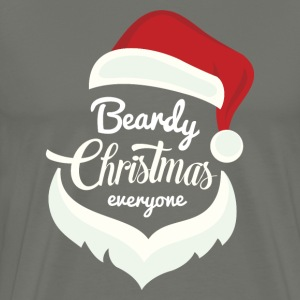Beardy Christmas - Men's Premium T-Shirt