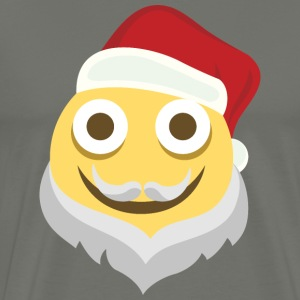 Beardy Christmas Moji - Men's Premium T-Shirt