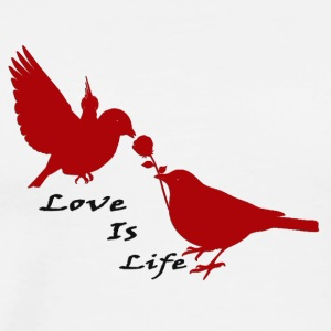 Love_Is_Life - Men's Premium T-Shirt