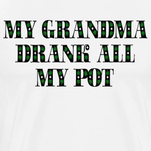Grandma's Boy Quote T-Shirts - Men's Premium T-Shirt