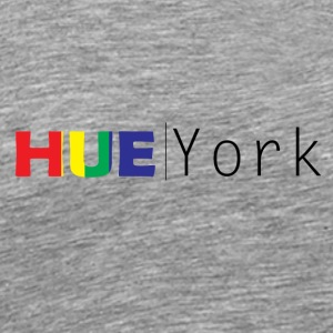 Hue York Design3 (Retro-Heavy) - Men's Premium T-Shirt