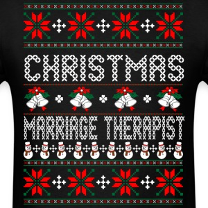 christmas_marriae_therapist T-Shirts - Men's T-Shirt