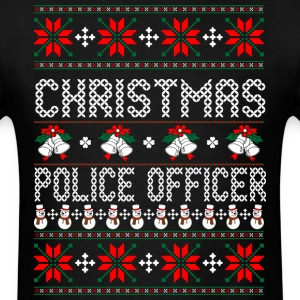 christmas_police_officer T-Shirts - Men's T-Shirt