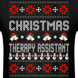 christmas_therapy_assistant T-Shirts - Men's T-Shirt