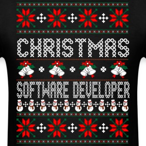 christmas_software_developer T-Shirts - Men's T-Shirt
