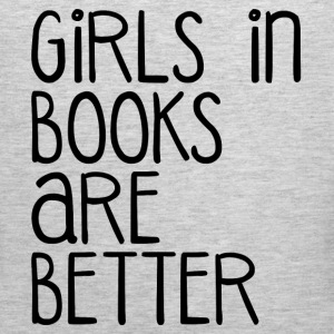 GIRLS BETTER IN BOOKS Sportswear - Men's Premium Tank