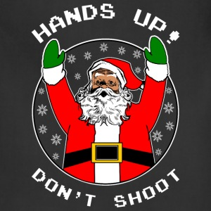 Dont Shoot Black Santa Aprons - Adjustable Apron