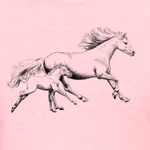 Mare with foal T-Shirts - Women's T-Shirt
