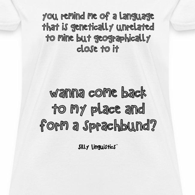 Wanna form a sprachbund?