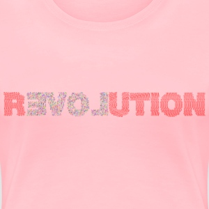 rLOVEution - Women's Premium T-Shirt