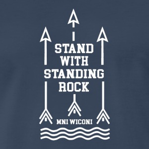 STANDING_ROCK - Men's Premium T-Shirt