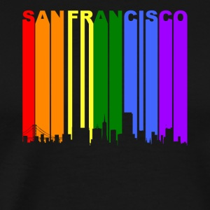 San Francisco CA Rainbow LGBT Gay Pride - Men's Premium T-Shirt