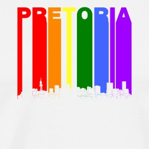 Pretoria Skyline Rainbow LGBT Gay Pride - Men's Premium T-Shirt