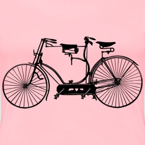 Antique tandem - Women's Premium T-Shirt