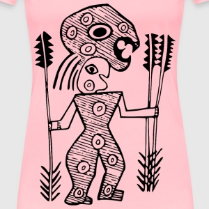 Aboriginal design 7 - Women's Premium T-Shirt