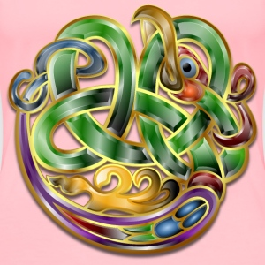 Celtic Ornament v7 - Women's Premium T-Shirt