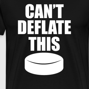 Can't Deflate This Hockey Puck Sports Tough TShirt T-Shirts - Men's Premium T-Shirt