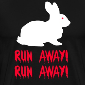 Monty Python - Run Away! Run Away! T-Shirts - Men's Premium T-Shirt