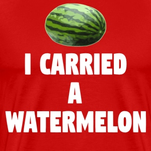 Dirty Dancing Quote - I Carried A Watermelon T-Shirts - Men's Premium T-Shirt