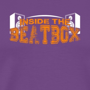 Inside The Beatbox Shirt - Men's Premium T-Shirt