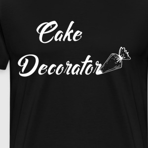 Cake Decorator Cooking Dessert Icing Culinary Tee T-Shirts - Men's Premium T-Shirt