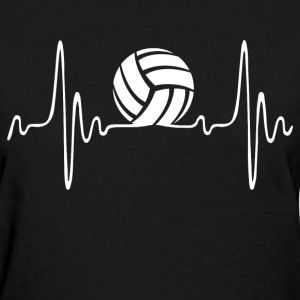 Volleyball Heartbeat - Women's T-Shirt