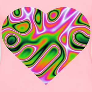 Heart (reduced file size) - Women's Premium T-Shirt