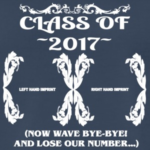 Class of 2017- Keepsake - Lose Our Number - Men's Premium T-Shirt