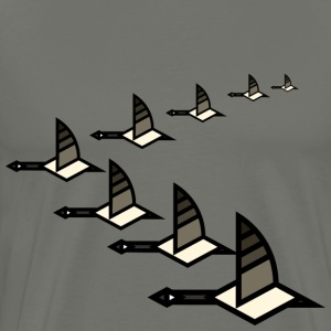 Gaggle of Geese T-Shirts - Men's Premium T-Shirt