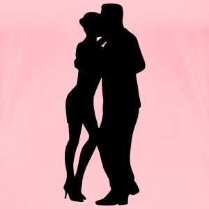 Dancing couple 20 - Women's Premium T-Shirt