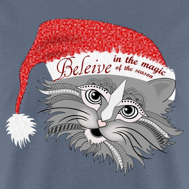 Christmas Kitty Men's T-Shirt from South Seas Tees