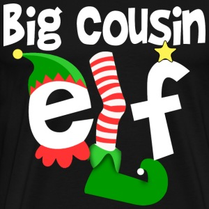 Big Cousin Elf T-Shirts - Men's Premium T-Shirt