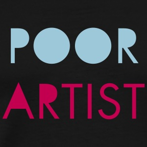 Poor Artist - Men's Premium T-Shirt
