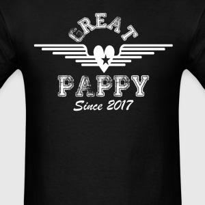 Great Pappy Since 2017 T-Shirts - Men's T-Shirt