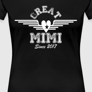 Great Mimi Since 2017 T-Shirts - Women's Premium T-Shirt