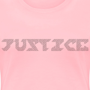 Peace In Justice - Women's Premium T-Shirt
