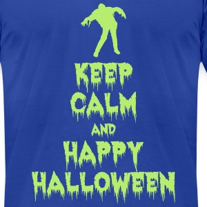 Happy Halloween T-Shirts - Men's T-Shirt by American Apparel